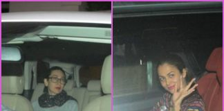 Karisma Kapoor and Amrita Arora gather at Kareena Kapoor's house over dinner