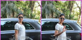 Katrina Kaif smiles and waves for cameras post gym