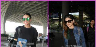 Neha Dhupia and Raveena Tandon make a stylish appearance at airport