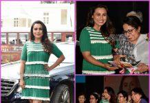Rani Mukerji launches Oye Hichki song amidst her former teachers