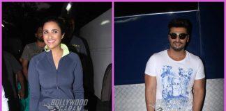 Arjun Kapoor and Parineeti Chopra at look test for Namastey England