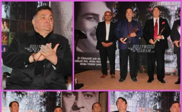 Rishi Kapoor, Randhir Kapoor and Rajiv Kapoor come together to honor father Raj Kapoor