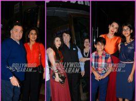Kapoor family gathers to celebrate 71st birthday of Randhir Kapoor