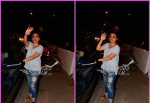 Rani Mukerji all smiles while on a casual outing