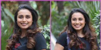 Rani Mukerji promotes Hichki in a jovial mood