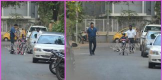 Mahesh Bhupathi gives bike lessons to daughter Saira