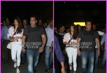 Salman Khan and Jacqueline Fernandez return from Race 3 schedule in Bangkok