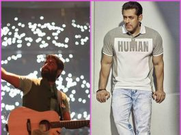 Arijit Singh again replaced by another singer due to Salman Khan