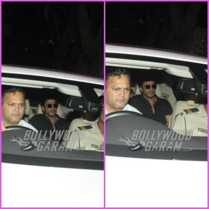 Shah Rukh Khan dilip Kumar