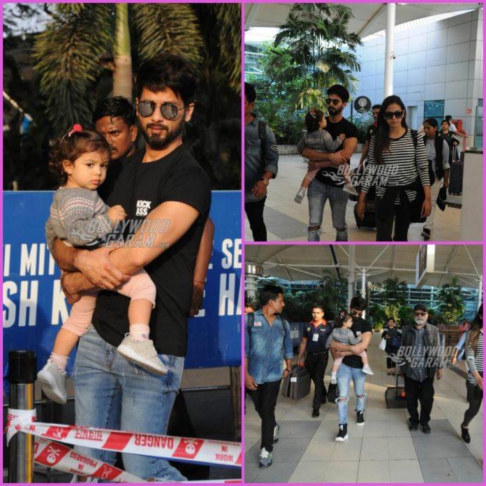 Shahid Kapoor family
