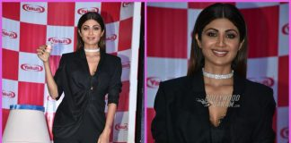 Shilpa Shetty launches Yakult light at an event