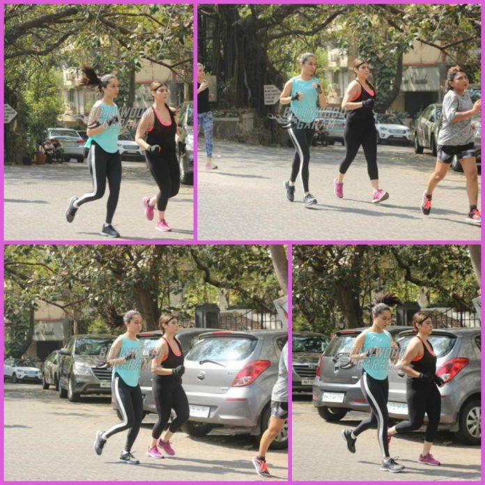 Shraddha Kapoor jogging