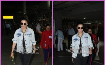 Shruti Haasan makes a stylish exit from airport