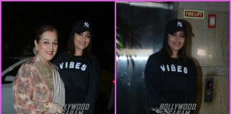 Sonakshi Sinha and Poonam Sinha grace screening of Welcome To New York