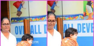 Taimur Ali Khan looks adorable at playschool