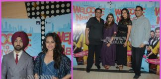 Sonakshi Sinha and Diljit Dosanjh promote Welcome To New York in Mumbai