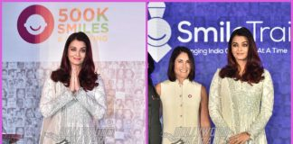 Aishwarya Rai Bachchan celebrates 5,00,000 free cleft surgeries at Smile Train event