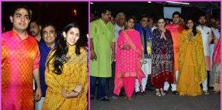 Akash Ambani and family seeks blessings at Siddhivinayak temple
