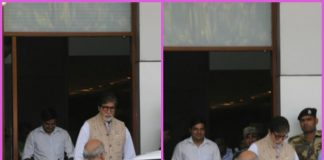 Amitabh Bachchan returns from Jodhpur after wrapping Thugs of Hindostan schedule