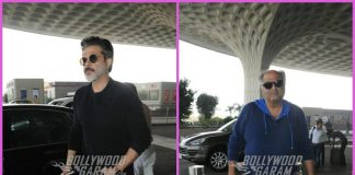 Boney Kapoor and Anil Kapoor leave for Haridwar
