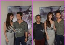 Tiger Shroff and Disha Patani promote Baaghi 2 at a press event