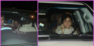 Anushka Sharma, Virat Kohli and Aamir Khan visit Boney Kapoor