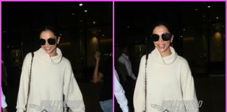 Deepika Padukone all smiles as she returns from London