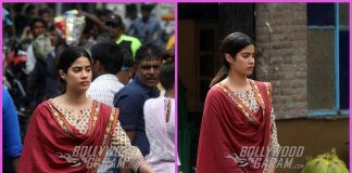 Janhvi Kapoor shoots for Dhadak in Kolkata