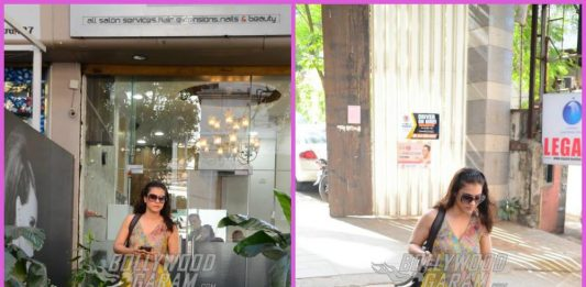 Kajol makes a gorgeous exit from a salon