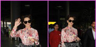 Kangana Ranaut makes a stylish appearance at airport