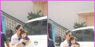Taimur Ali Khan accompanies mom Kareena Kapoor to shoot
