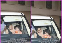 Kareena Kapoor takes son Taimur Ali Khan for a drive