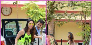 Kareena Kapoor makes stylish appearance at gym
