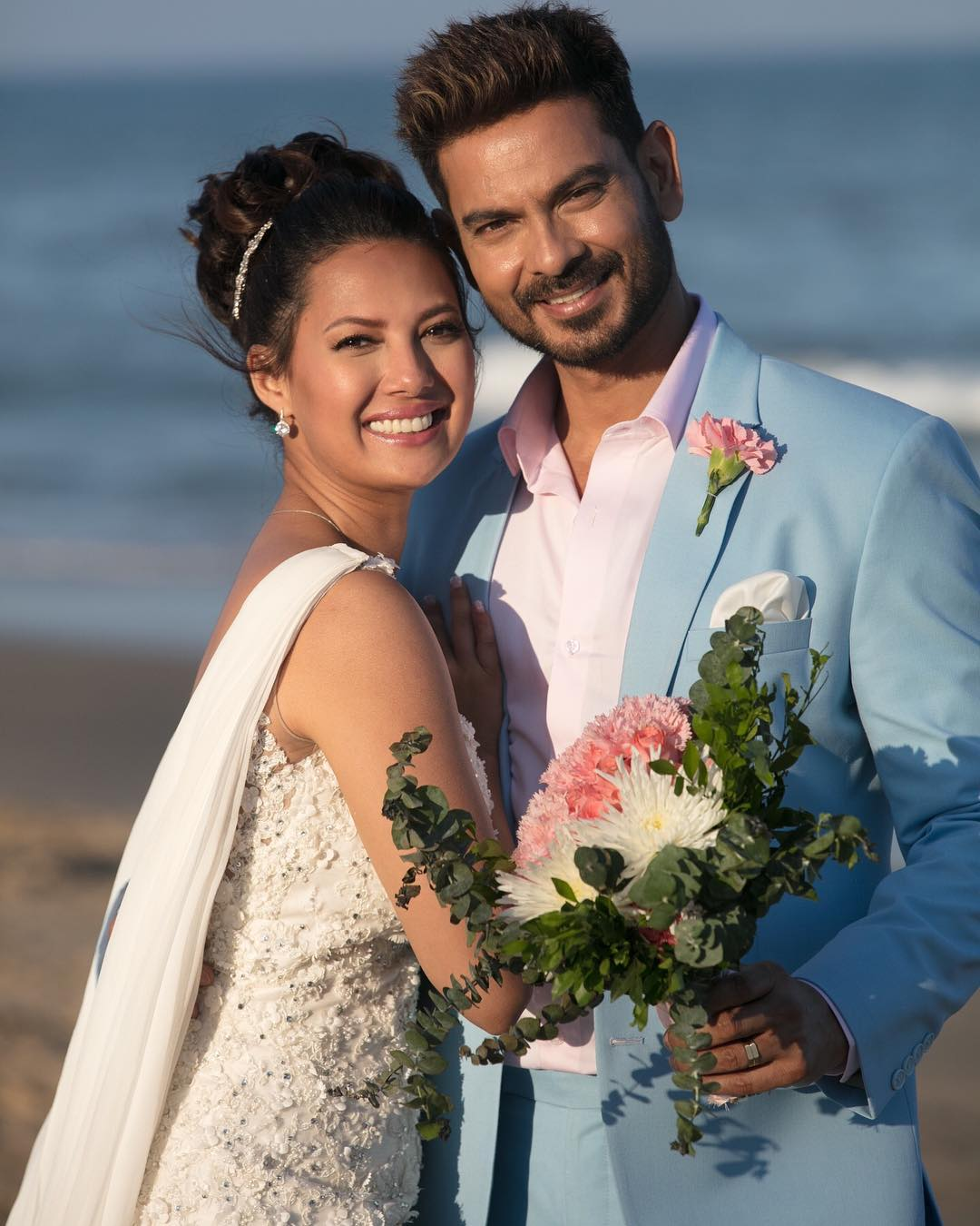 Keith Sequeira and Rochelle Rao get married in an intimate ceremony