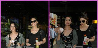 Kriti Sanon and sister Nupur Sanon give sibling goals at airport