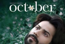 Varun Dhawan unveils first look of October