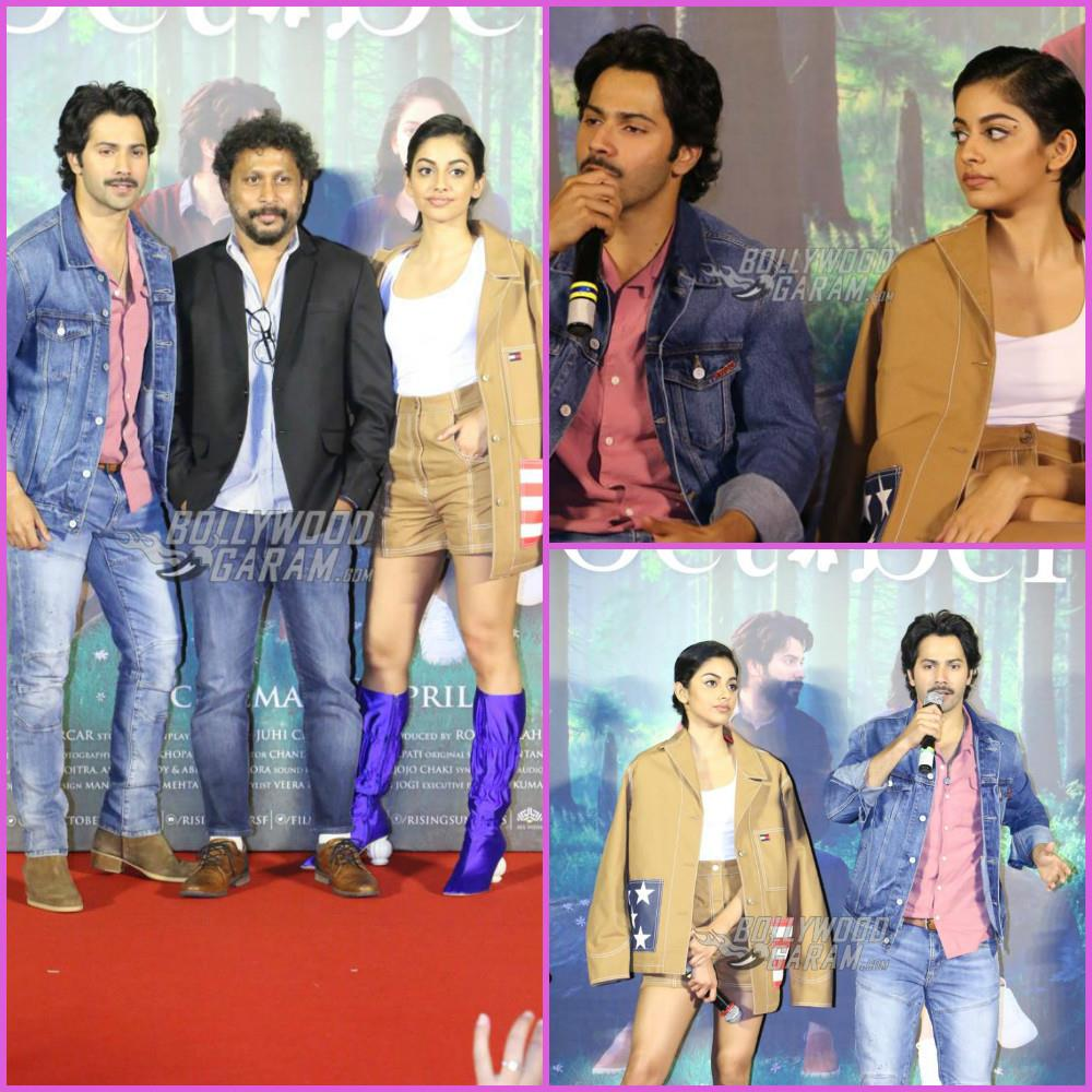 Varun Dhawan and Banita Sandhu launch trailer of October