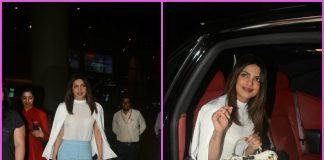 Priyanka Chopra returns to India after finishing international commitments