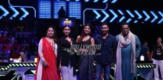 Ajay Devgn and Ileana D'Cruz promote Raid on sets of Super Dancer Chapter 2
