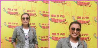 Rani Mukerji promotes Hichki at Radio Mirchi