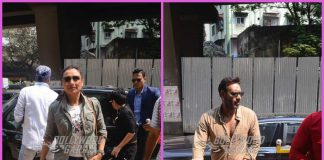 Rani Mukerji and Ajay Devgn promote their films in Mumbai