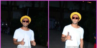 Ranveer Singh shows off quirky style