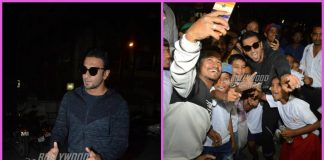 Ranveer Singh mobbed by fans at football match venue
