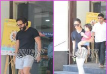 Kareena Kapoor, Saif Ali Khan and Taimur Ali Khan go shopping