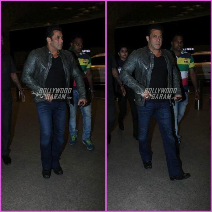 Salman Khan airport
