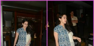 Sara Ali Khan spends casual time at a restaurant