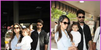 Shahid Kapoor returns from short vacation with Mira Rajput and Misha Kapoor