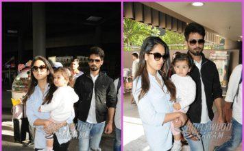 Shahid Kapoor returns from short vacation with Mira Rajput and Misha Kapoor