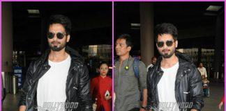Shahid Kapoor returns from Tehri schedule of Batti Gul meter Chalu