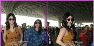 Shruti Haasan and mother Sarika make a dazzling appearance at airport